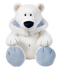 Polar Bear with Hood
